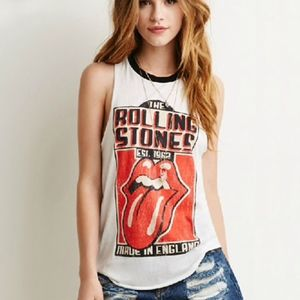 Rolling Stones MADE IN ENGLAND TEE SMALL NWT
